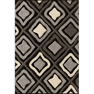 Affordable Alford Hand-Woven Black Area Rug By Threadbind