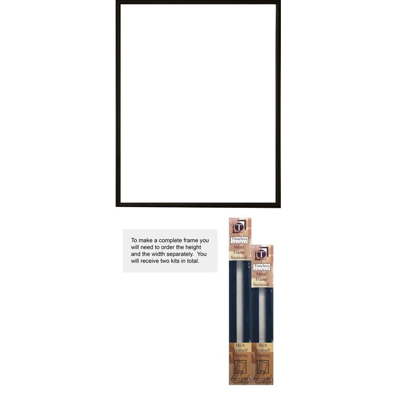 Symple Stuff Robinson Metal Sectional Do It Yourself Picture Frame