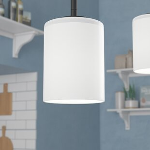 Knouse 1-Light Cylinder Pendant by Zipcode Design