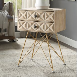 Affordable Bandit Two Drawer Accent Table By Bungalow Rose