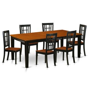 Pilger Contemporary 7 Piece Dining Set August Grove