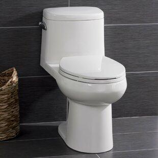Miseno High Efficiency ADA Height 1.28 GPF Elongated One-Piece Toilet