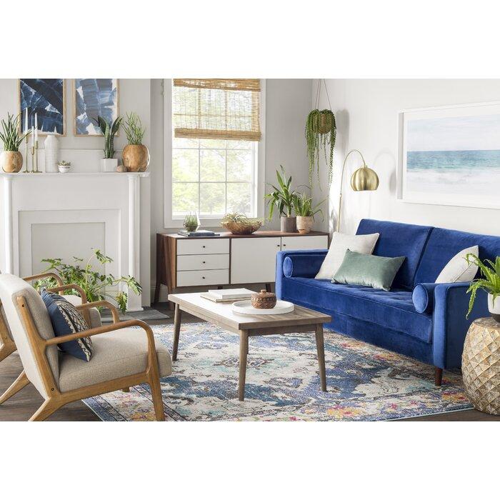 Annabel Navy/Light Blue Area Rug