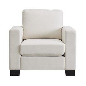 Armour Down Filled Linen Club Chair