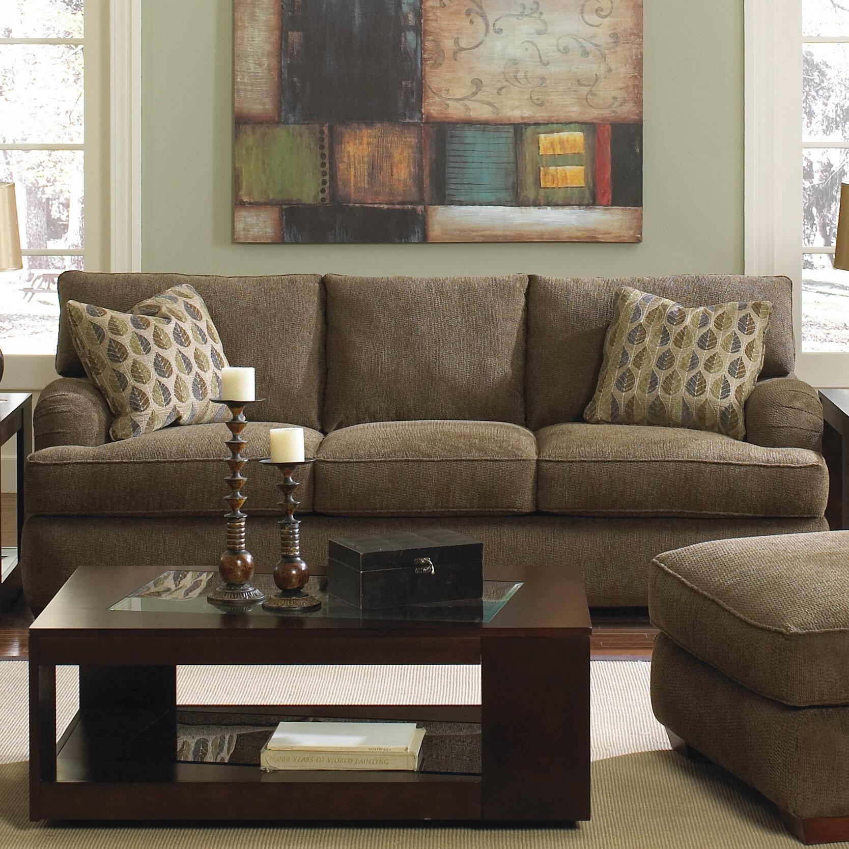 Beau Klaussner Furniture Vaughn Sofa   Wayfair