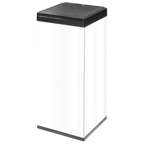 80 L Mülleimer Big-Box® aus Edelstahl | Küche und Esszimmer > Küchen-Zubehör > Mülleimer | Weiß | Hailo