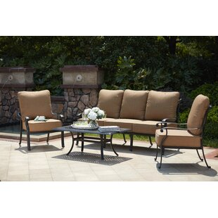 Melchior 4 Piece Sofa Set with Cushions