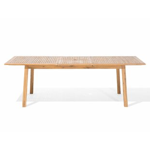 Lilith Extendable Wooden Dining Table By Sol 72 Outdoor