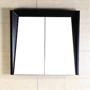 30  x 25.8  Surface Mount Medicine Cabinet : wood medicine cabinets with mirror - Cheerinfomania.Com
