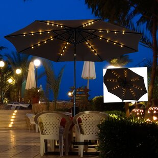 Kelty 8.5' Lighted Umbrella by Brayden Studio