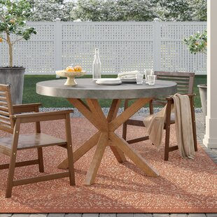 Mancini  Stone/Concrete  Dining Table by Birch Lane™ Heritage