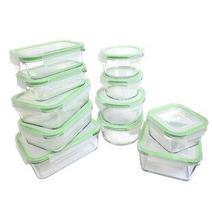 Glassworks Oven Safe 11 Container Food Storage Set