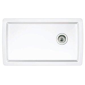 White Undermount Kitchen Sink undermount kitchen sinks you'll love   wayfair