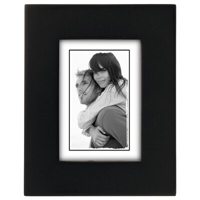 Andover Mills Ben Linear Picture Frame Size: 2 x 3, Color: Dark Walnut