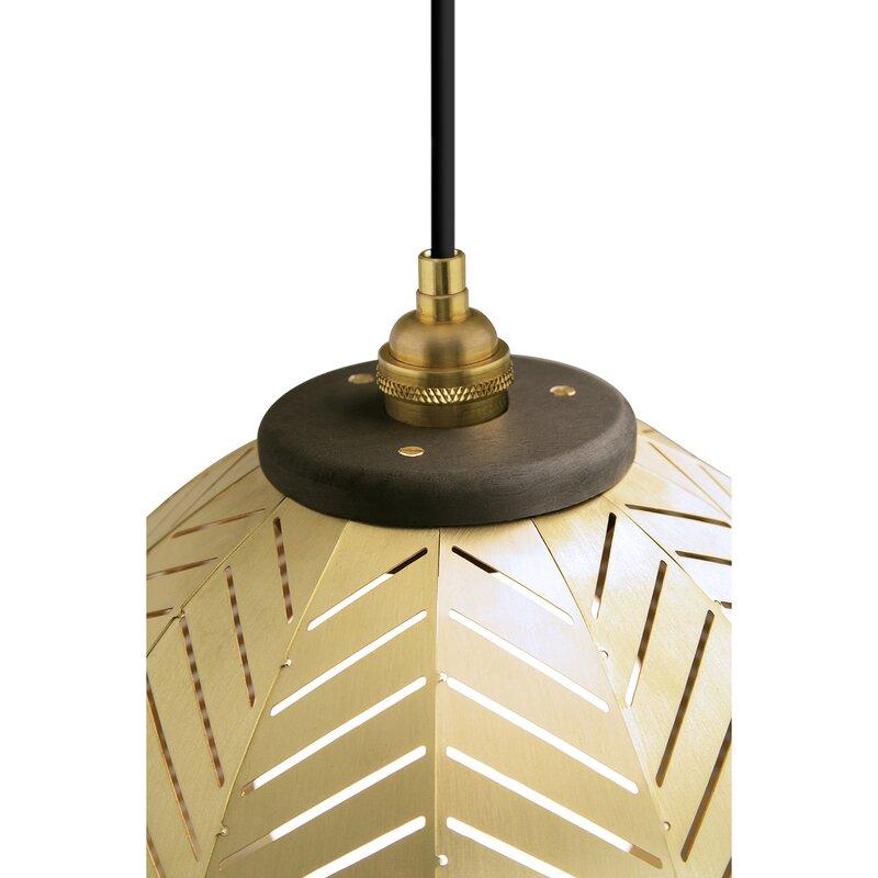 Cerno Amicus 1 Light Single Dome Pendant Wayfair