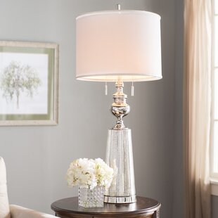 Alaskan Plated 41 Table Lamp