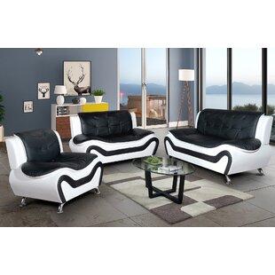off white leather sofa set wayfair ca rh wayfair ca  what furniture goes with black leather sofa
