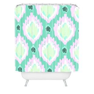 Allyson Johnson Bohemian Ikat Single Shower Curtain