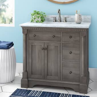 Seadrift 49 Single Bathroom Vanity Set Reviews Joss Main