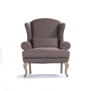 Zentique Zacharie Wingback Chair