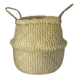 Missouri 2 Piece Natural Fibres Cachepot Set (Set Of 2) By Bay Isle Home