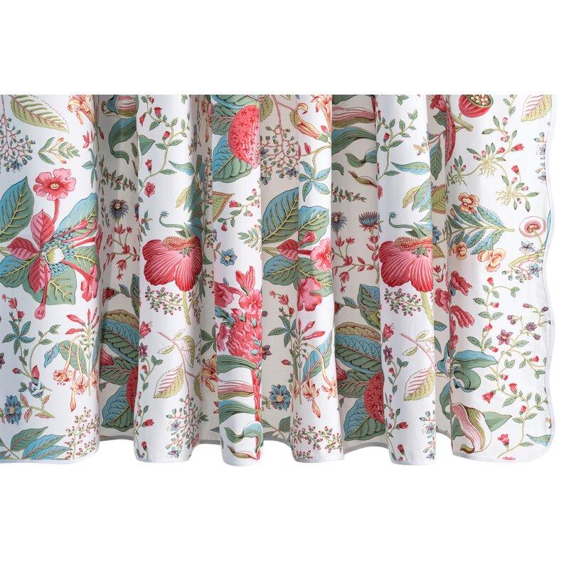 Matouk Schumacher 100 Cotton Floral Single Shower Curtain Perigold