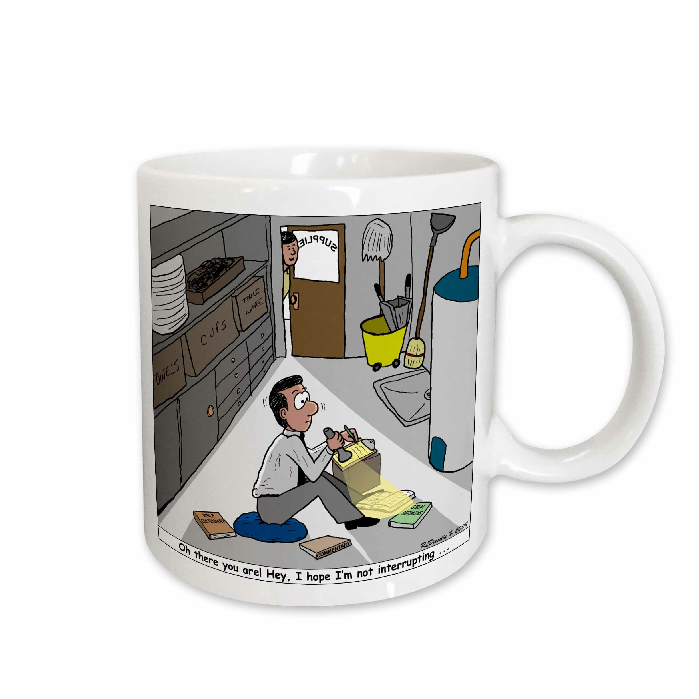 East Urban Home Pastor Privacy And Interruption Issues Coffee Mug Wayfair