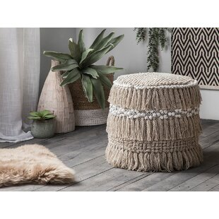 Newtowne Pouf by Bungalow Rose