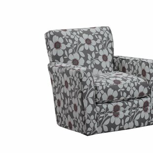 Simmons Upholstery Thrall Swivel Glider by Harriet Bee