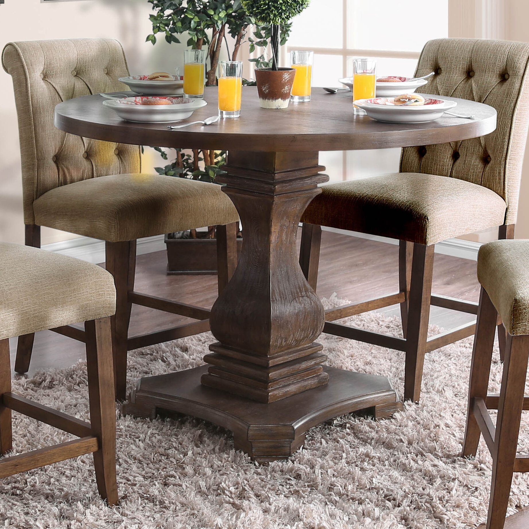Fishponds Counter Height Solid Wood Dining Table