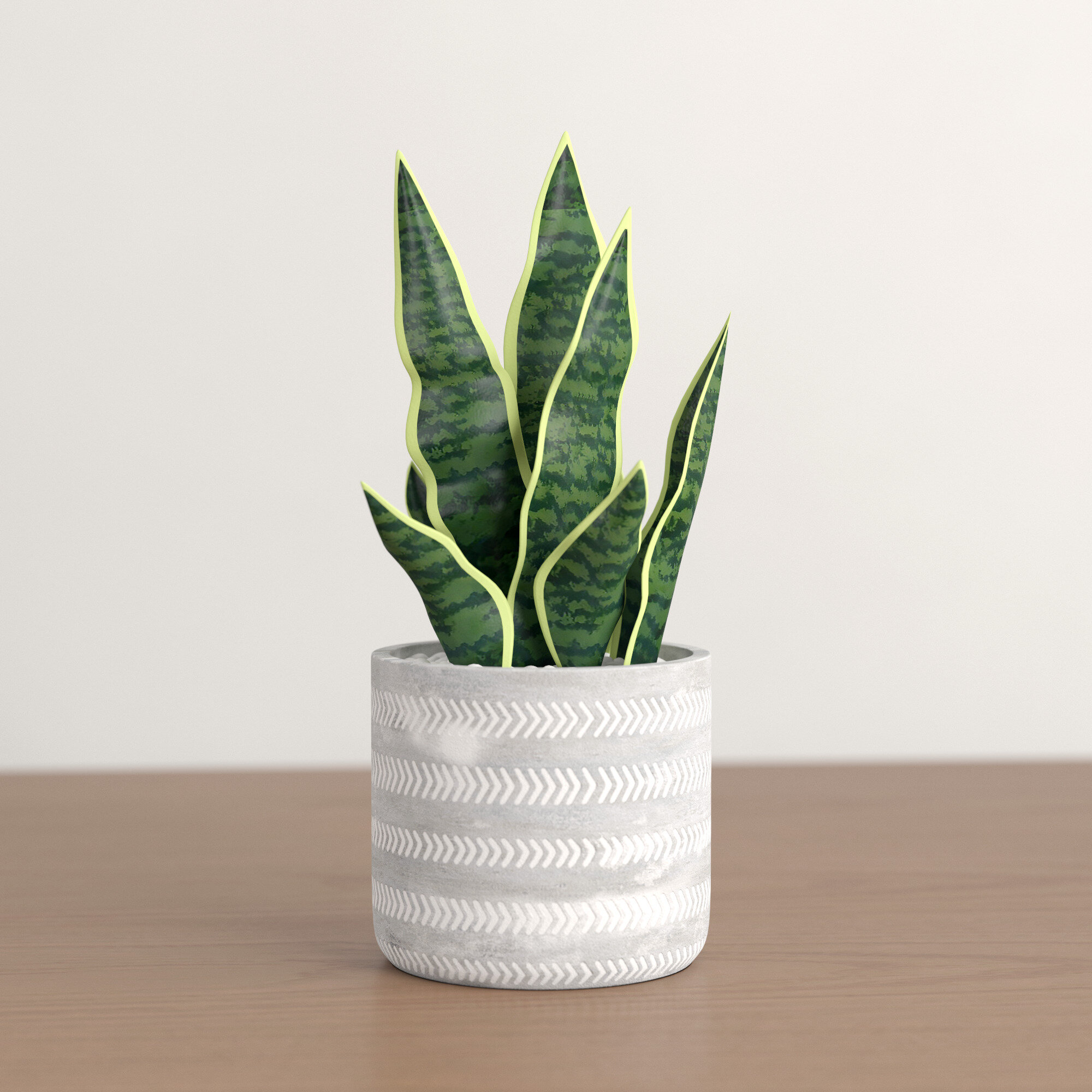Snake Plant Faux Plants Free Shipping Over 35 Wayfair