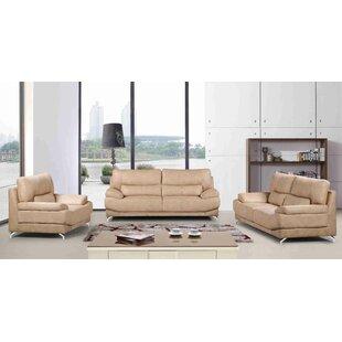 Sormanti 3 Piece Living Room Set