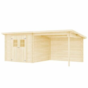 Bradberry 21 X 10 Ft. Log Cabin By Sol 72 Outdoor
