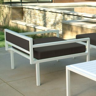 Talt Low Deep Seating Patio Lounge Chair with Cushions