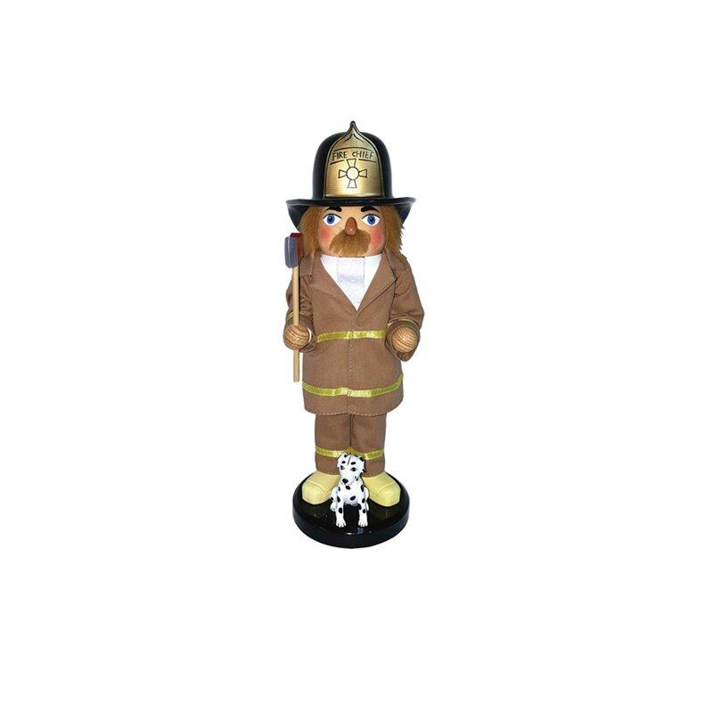 Fireman and Dalmatian Nutcracker