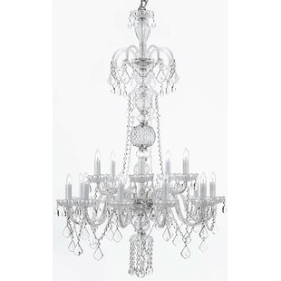 House of Hampton Meredith 12-Light Candle Style Chandelier