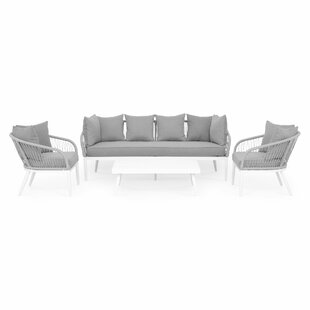 Camilea 4 Seater Sofa Set By Sol 72 Outdoor