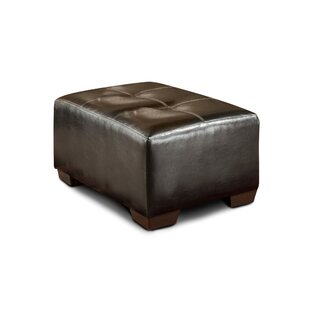 Tony Tufted Ottoman by Red Barrel Studio