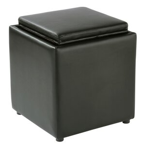 Elsner Square Storage Ottoman by Ebern Designs