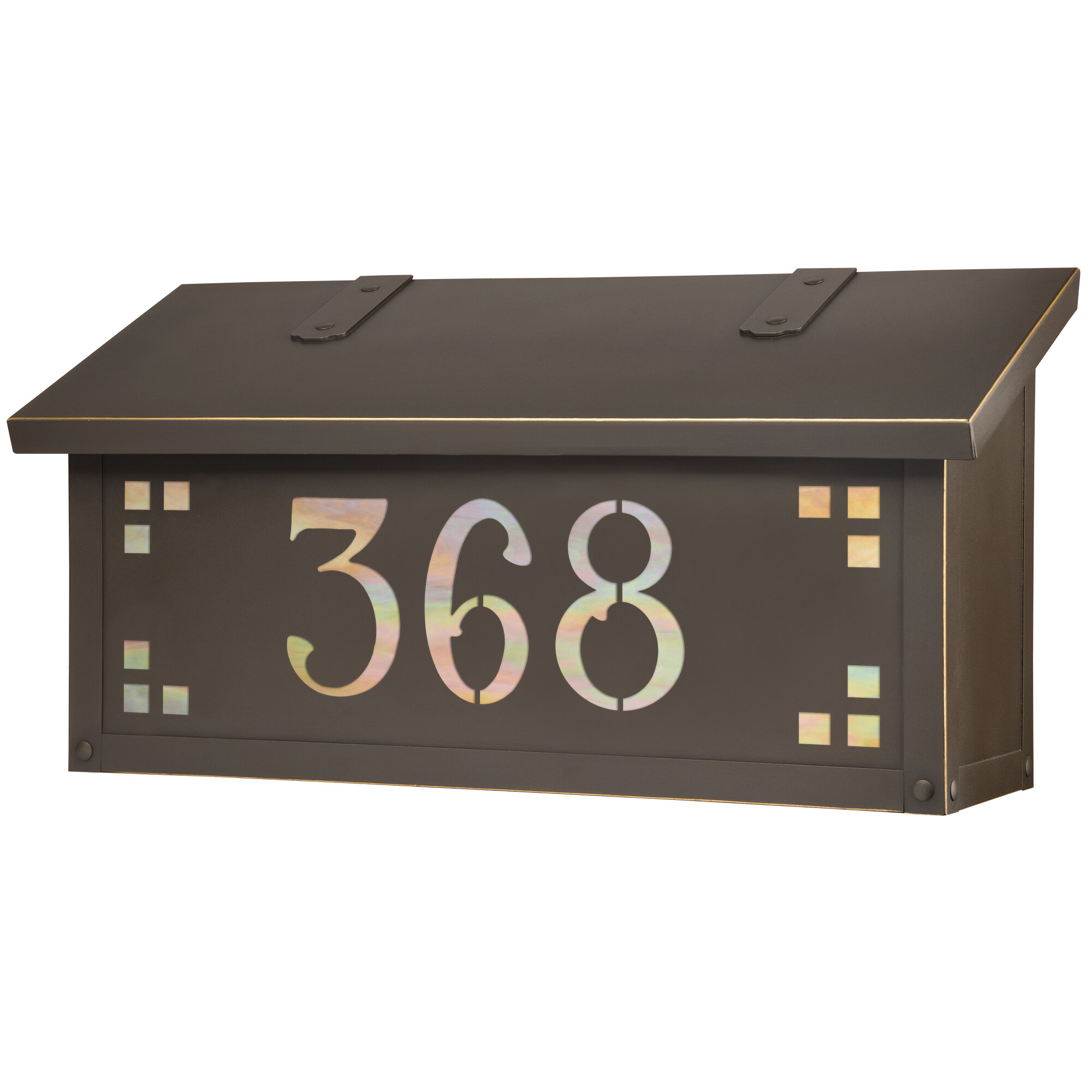 Picture of: America S Finest Lighting Company Pasadena Wall Mounted Mailbox Reviews Wayfair
