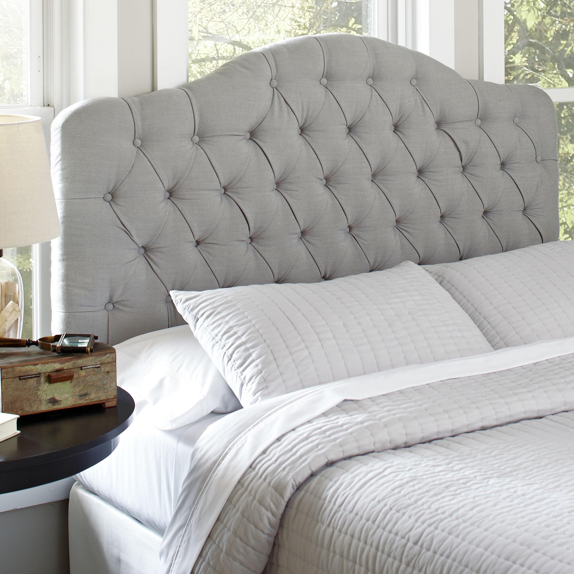 sale retailer 42785 11d53 Genevra Upholstered Panel Headboard