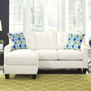 Aldie Reversible Sleeper Sectional : sectional sofa sleeper - Sectionals, Sofas & Couches