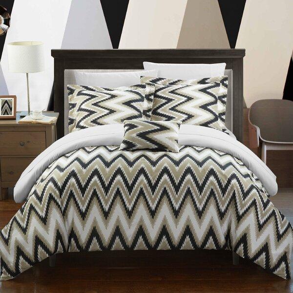 Wrought Studio Knighten 4 Piece Reversible Comforter Set Reviews Wayfair