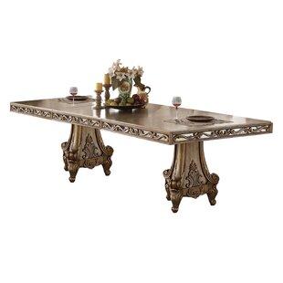 Hogan Extendable Dining Table by Rosdorf Park