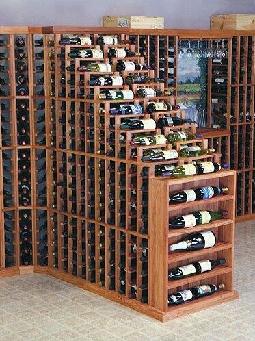 Symple Stuff Florez 282 Bottle Floor Wine Bottle Rack Wayfair Ca