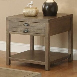 Kiska End Table by Loon Peak
