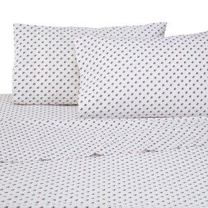 Americana Skipjack 4 Piece 200 Thread Count 100% Cotton Sheet Set