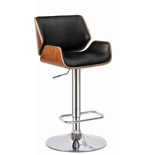 Madalynn Adjustable Height Swivel Bar Stool