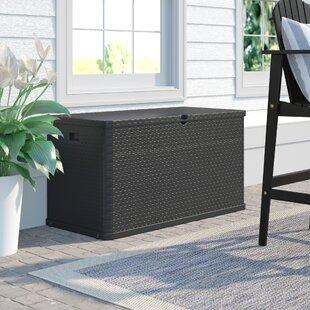 Rattan Cushion Storage Box Wayfair Co Uk