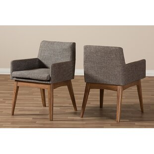 Carrasquillo Upholstered Dining Chair (Set of 2)